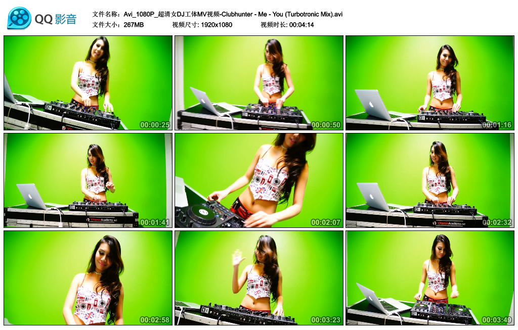 [1080-AVI]夜店-Avi_1080P_超清女DJ工体MV视频-Clubhunter - Me - You (Turbotronic Mix)(1)