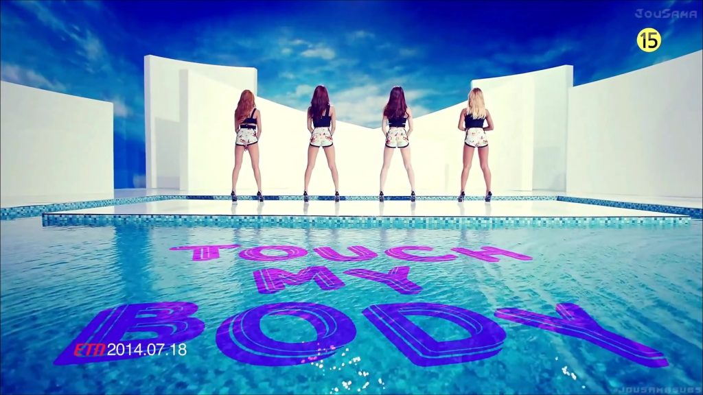 日韩高清官方-[4K] SISTAR – Touch My Body 官方MV 3840*2160(1)